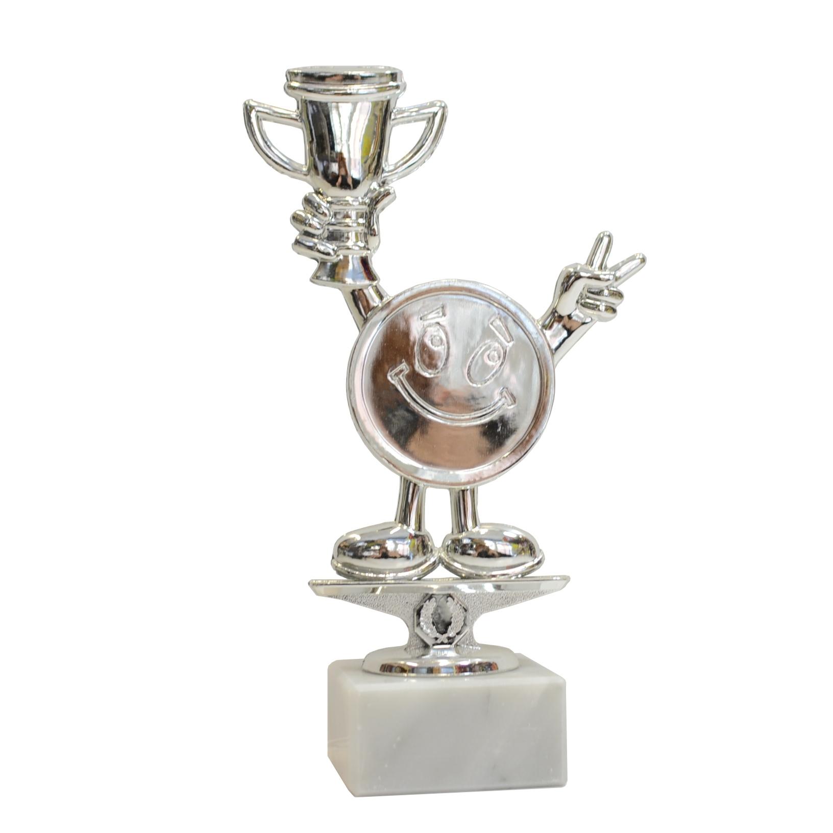 Купить Серебряная статуэтка с гравировкой 21см S. на Otpravka - цены и фото - доставка из Польши и стран Европы в Украину.