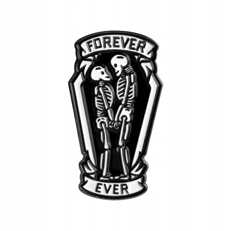 Pins Forever Ever emaliowana przypinka