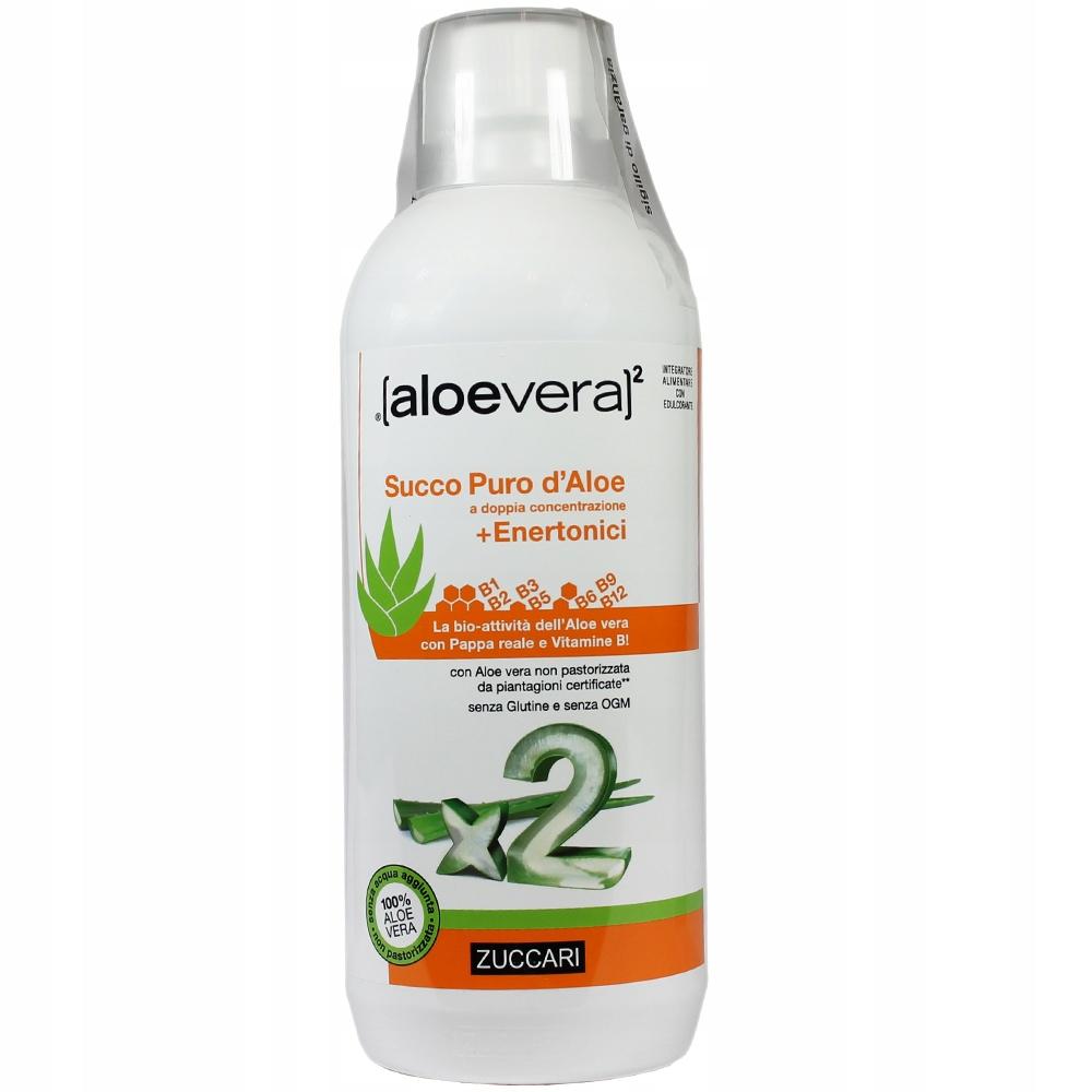 2 AloeVera+VITAMÍN B-Komplex 1000 ml ALOE ŠŤAVA