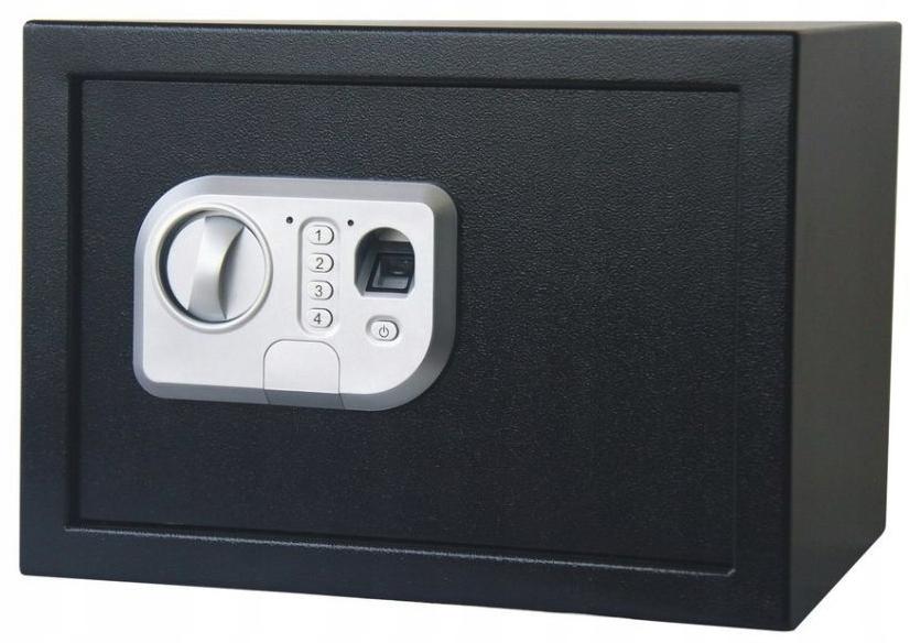 Sejf Biometryczny Elektroniczny Odcisk Palca Kasa