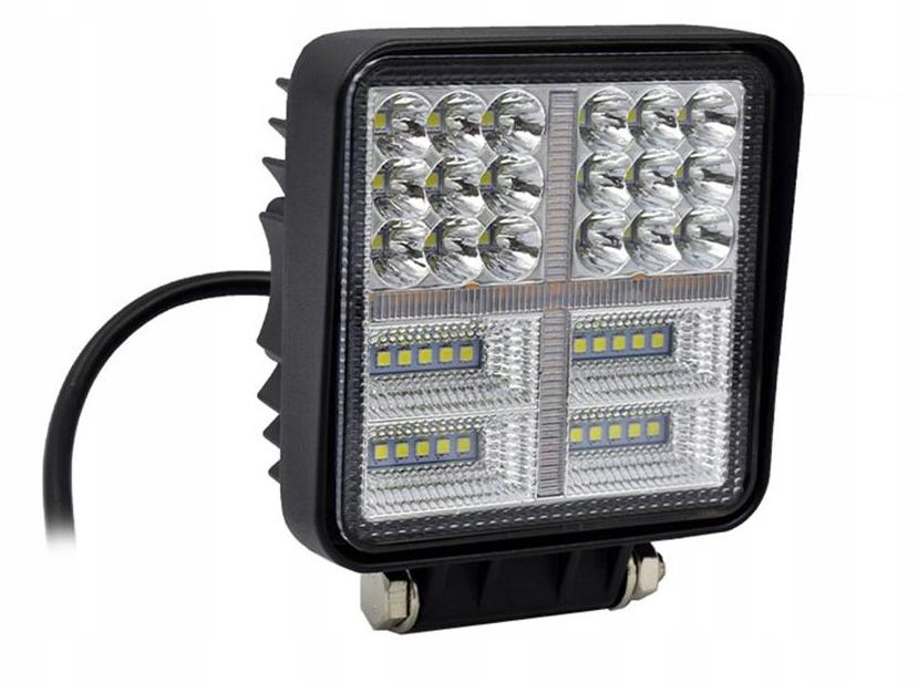 панель led лампа рабочая галоген 177w 12-24v cree
