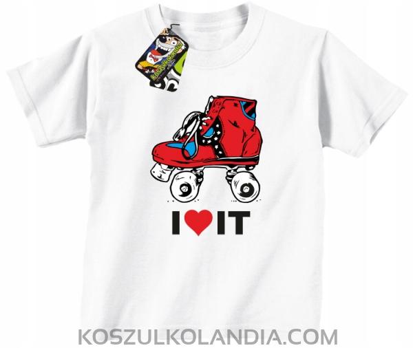 VALČEKY a milujem RETRO t-SHIRT Detí /116cm