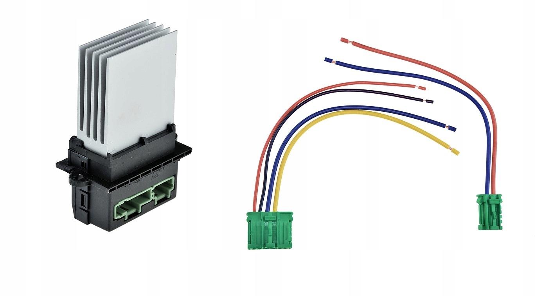 резистор резистор воздуходувки peugeot 1007 207 406 607