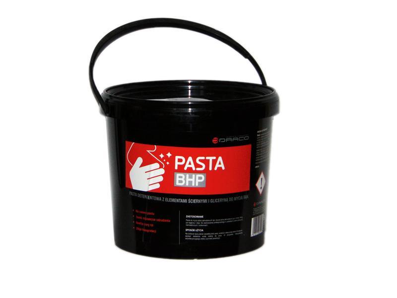 duża pasta BHP do mycia rąk z gliceryną 5L