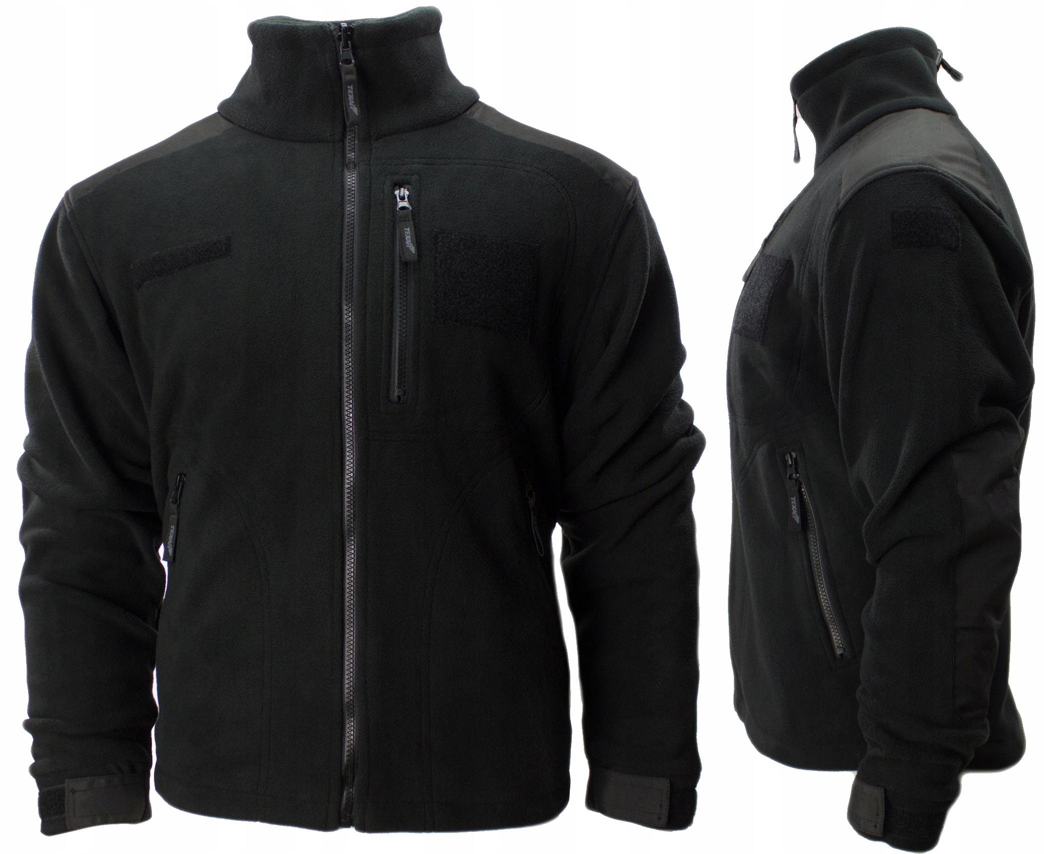 Fleece mikina Cestovné Texar 305 g fleece bunda ECWCS XL Čierna