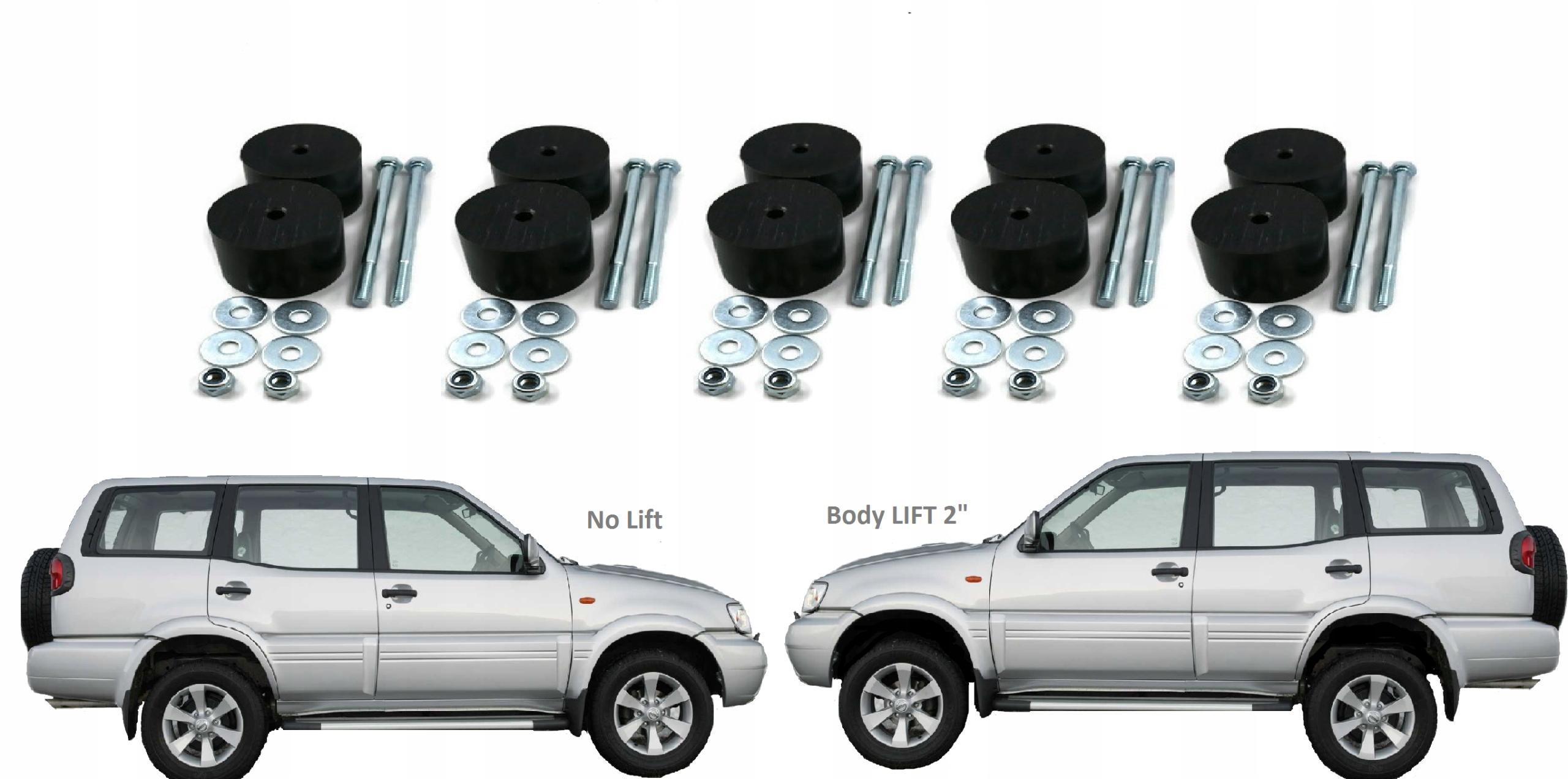 Body Facelift 2 Nissan Terrano R20 Off Road 4x4 Xdalys Lt