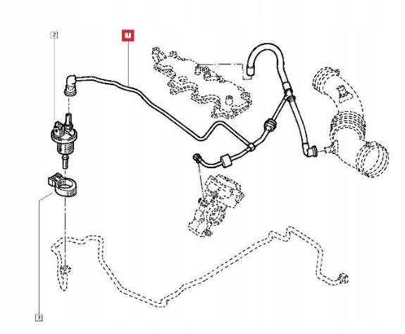 RURKA KLIMATYZACJI VW GOLF VII LEON OCTAVIA III A3