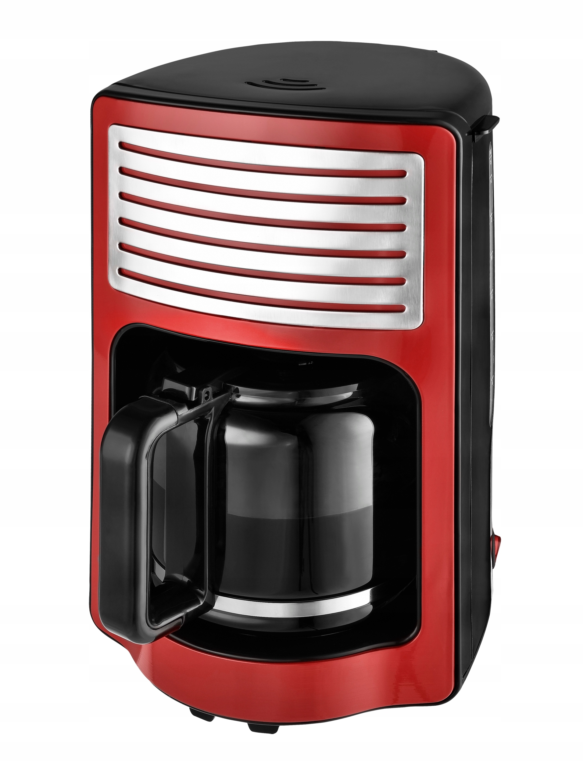 Pretekať káva KALORIK RETRO červená