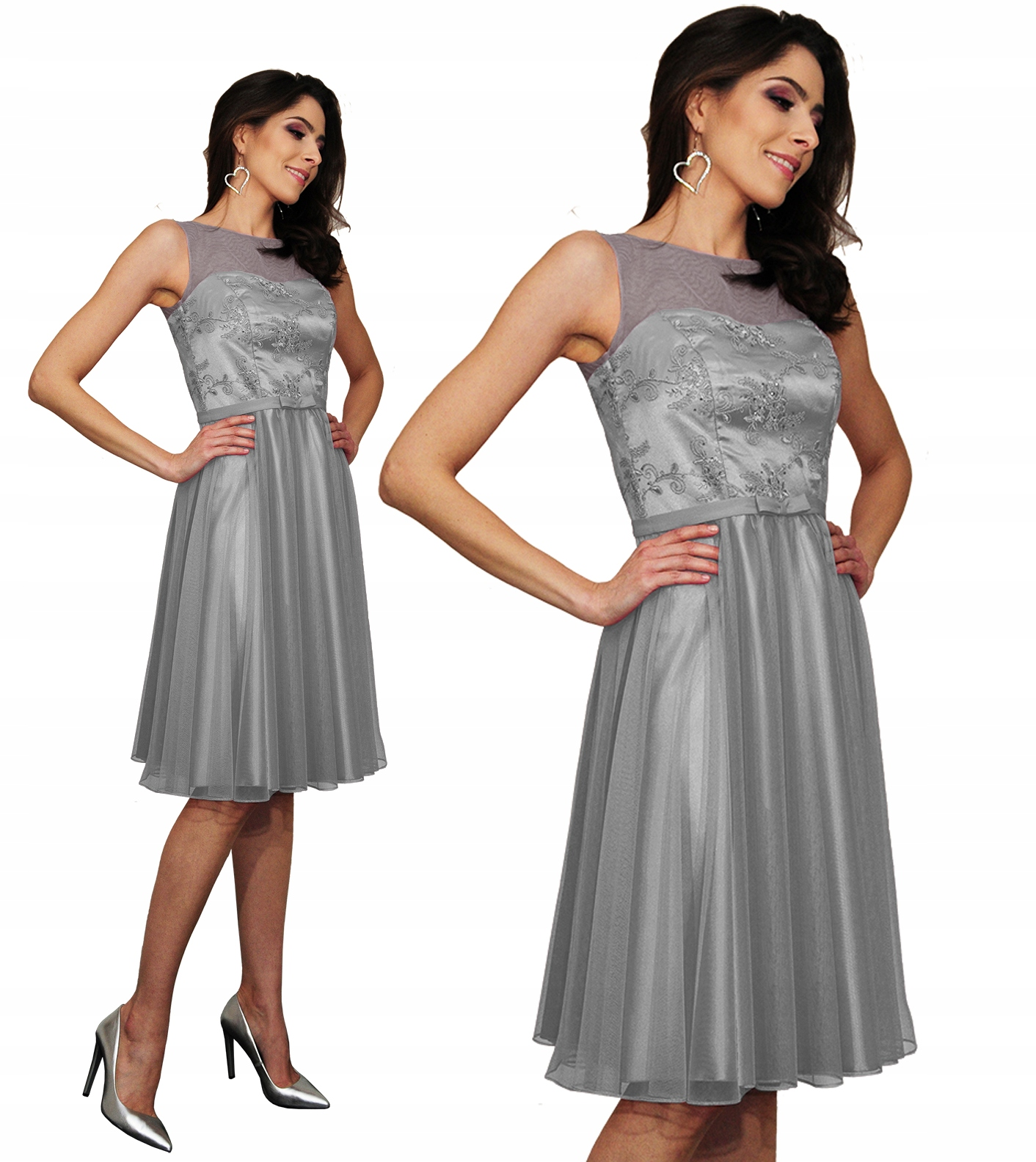 Camill 360 koronkowa sukienka wesele kolory 44