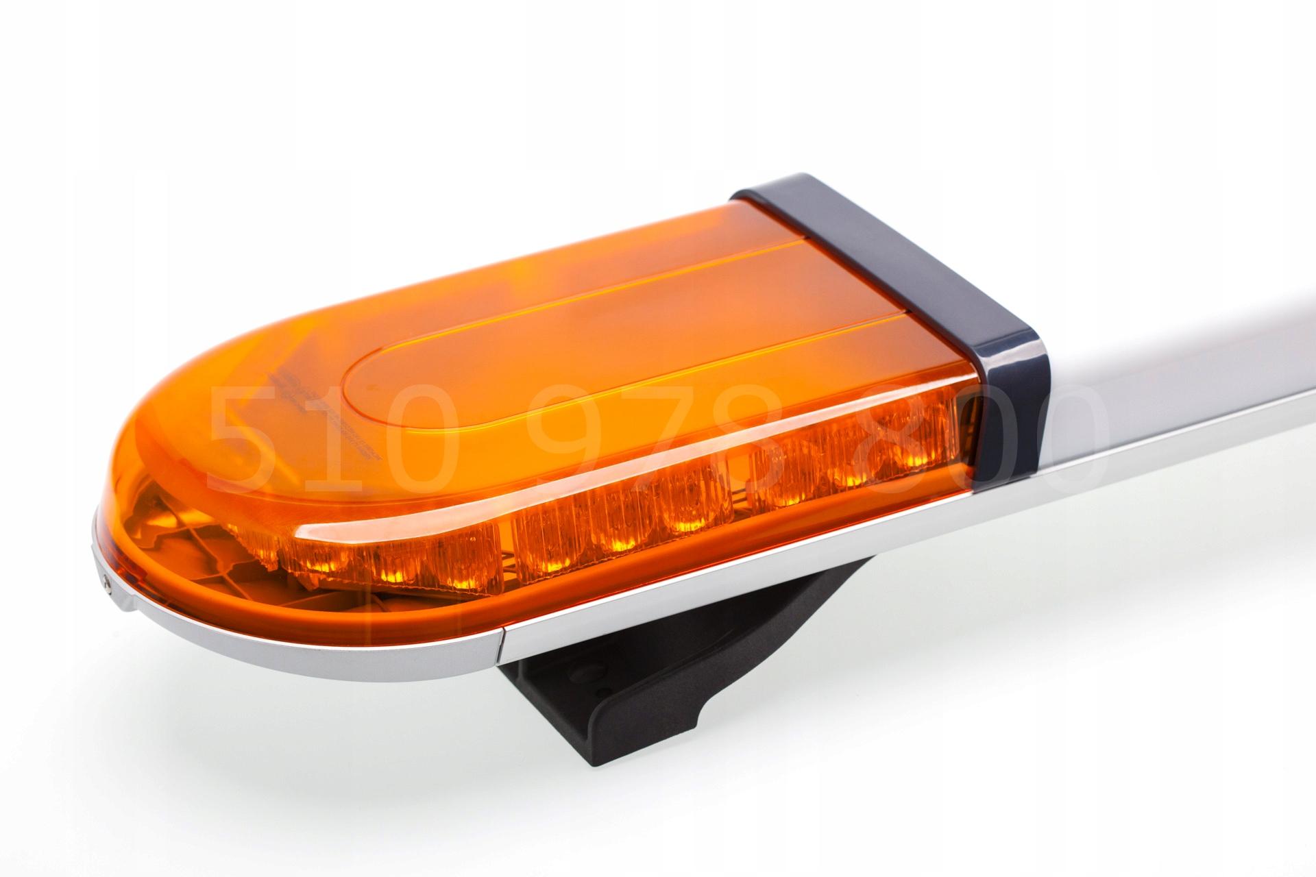 Балка лампа СВЕТОДИОДНАЯ 120 см ECE R65 R10 помощь
