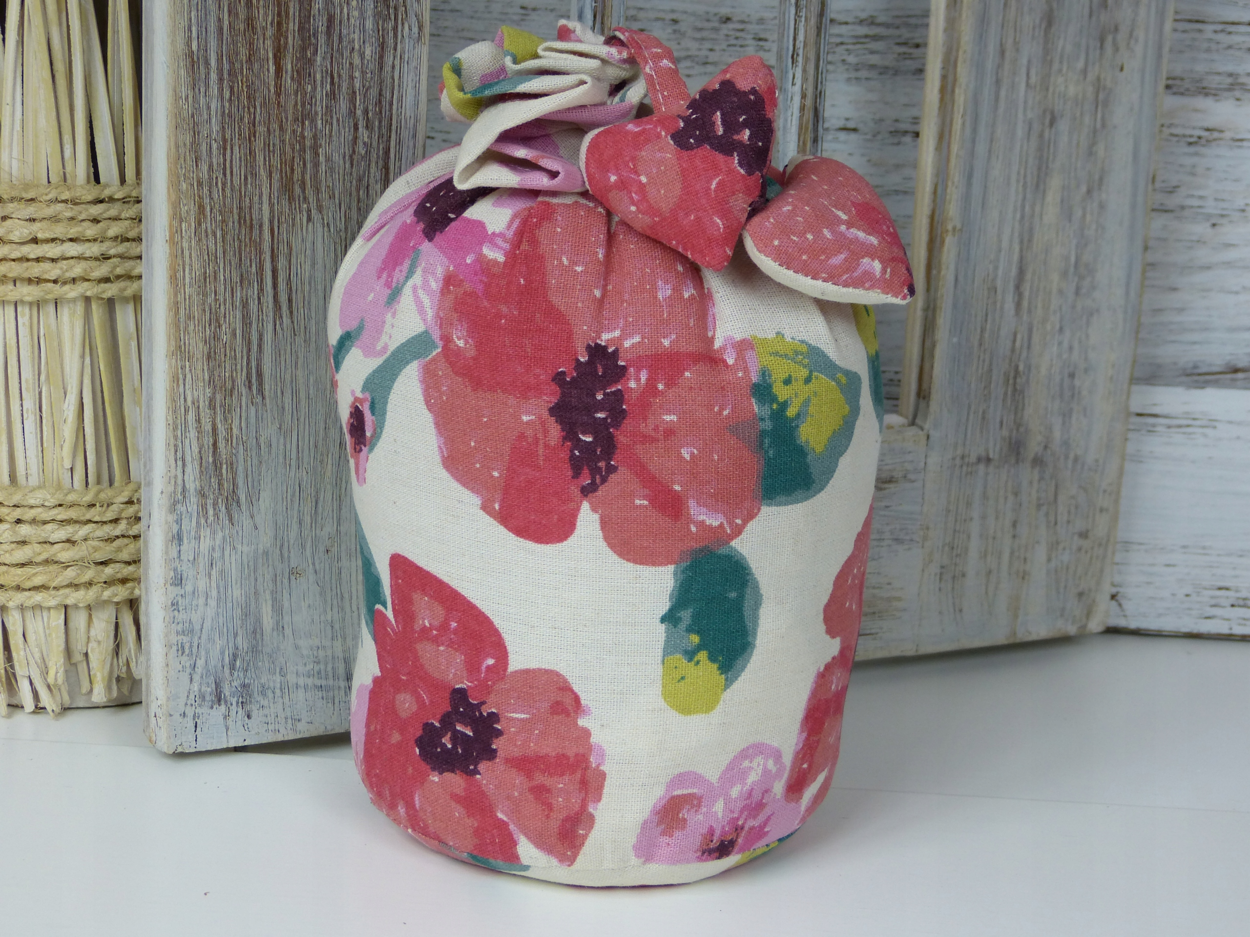 dôraz stopky zámok taška kvety VINTAGE