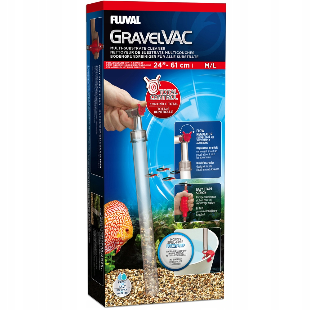FLUVAL GravelVac Multi-Substrát M/L Thickener 60 cm