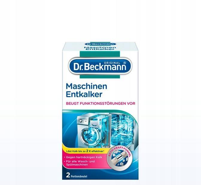 Dr Beckmann для удаления накипи для стиральной машины посудомоечной машины 2x50g