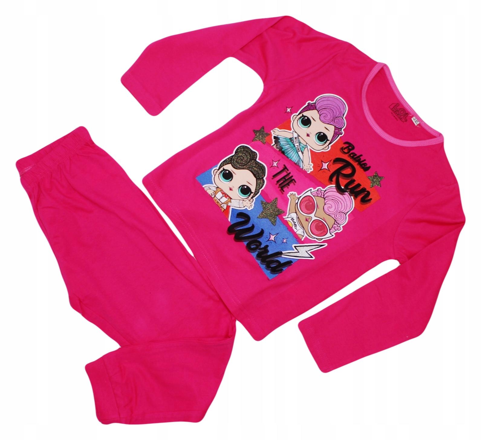 Bavlnené pyžamo LOL Surprise 110/116 5/6 rokov