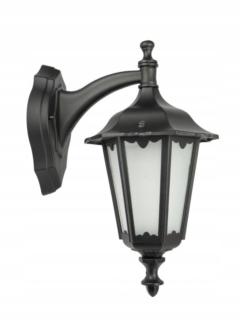 Záhrada lampa klasické MNOŽSTVO Retro Midi čierna