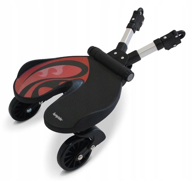BUMPRIDER Nástavec na vozík s obmedzenou červenou farbou