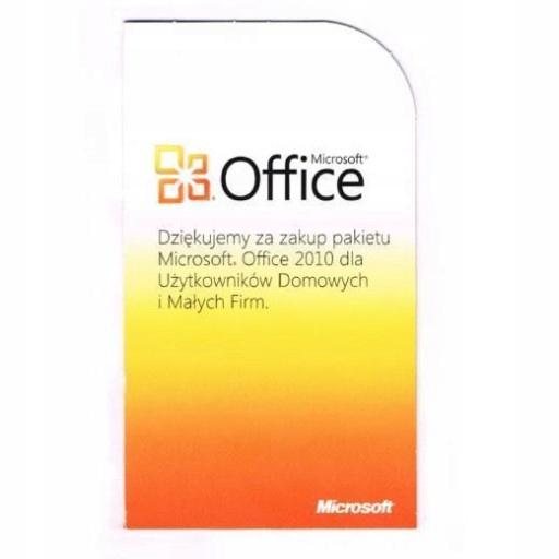 MS Office 2010 для БИЗНЕСА И ДОМА доставка товаров из Польши и Allegro на русском