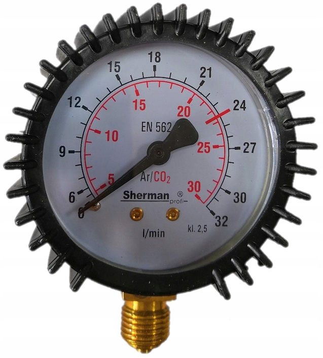 Hodiny Tlakomer Argón CO2 0-32 12x1,5