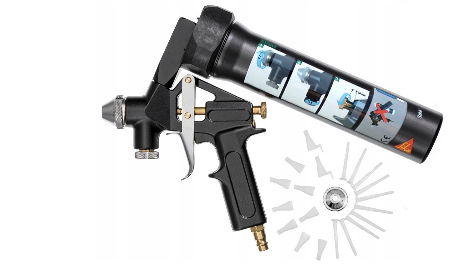Купить SIKA Пистолет для масс спрей SIKAFLEX 529 на Eurozakup - цены и фото - доставка из Польши и стран Европы в Украину.