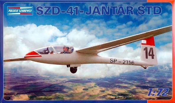 Модель планера SZD-41-ЯНТАРЬ