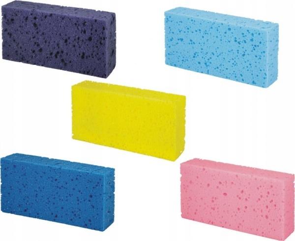 Obdĺžniková špongia Rôzne farby 5 kusov