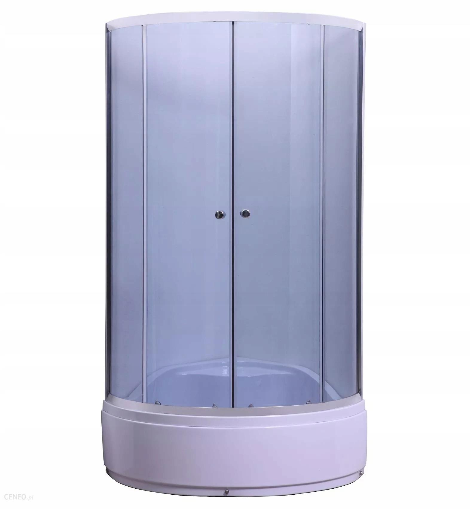 Sprchová kabína KAMILA s vaničkou 80X80X200