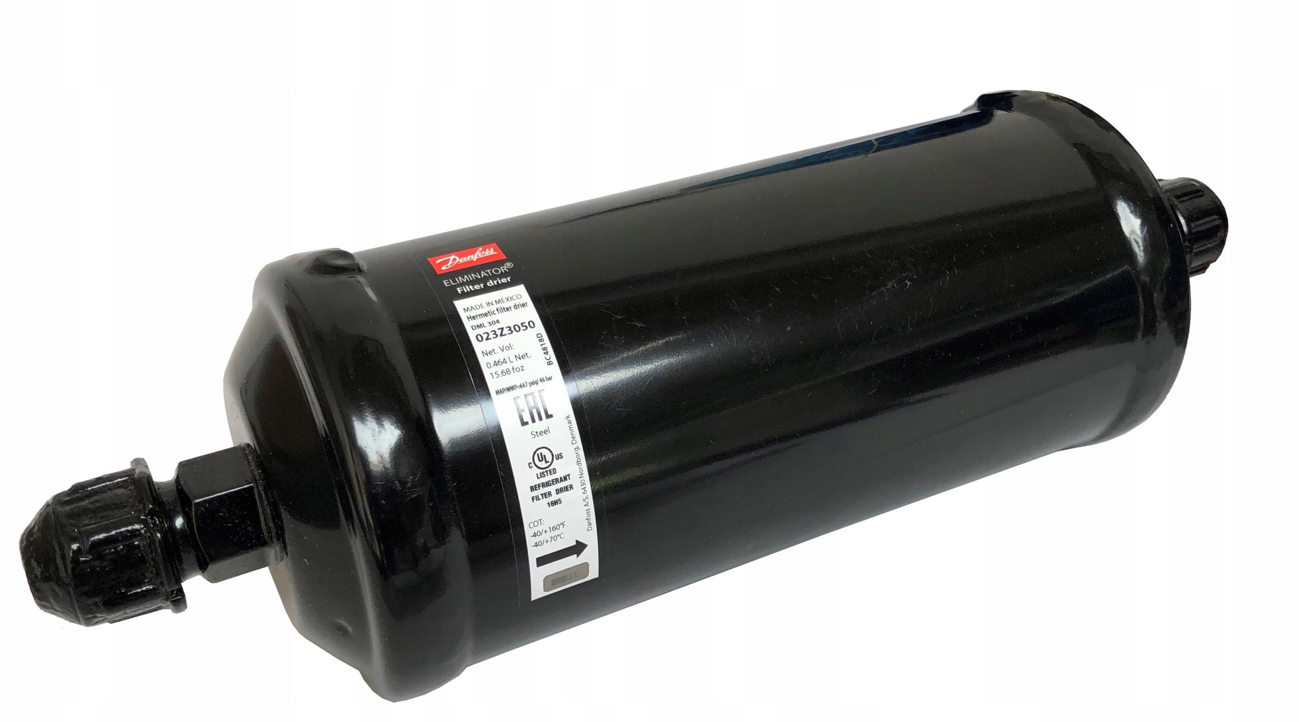 фильтр осушитель danfoss dml 304 12' 12' 023z0050