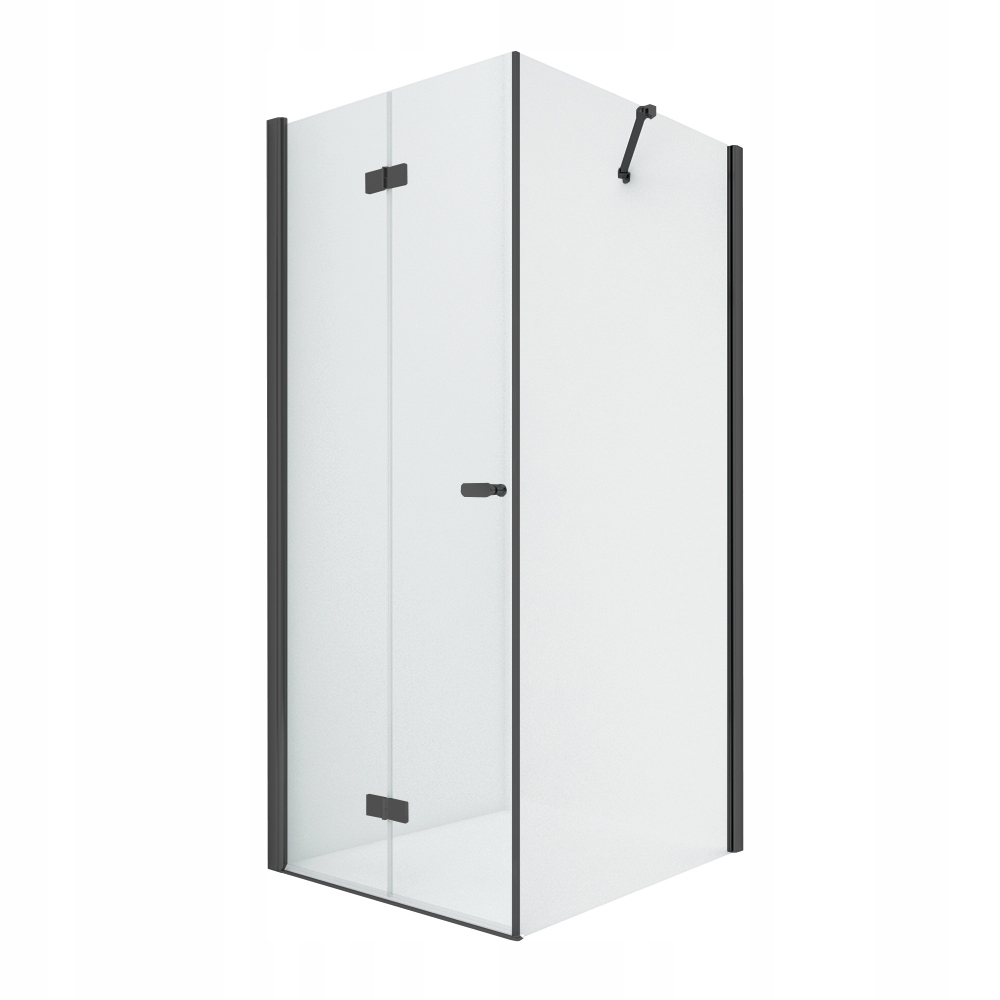 NOVÝ sprchovací kút SOLEO BLACK 70x70 x195 cm