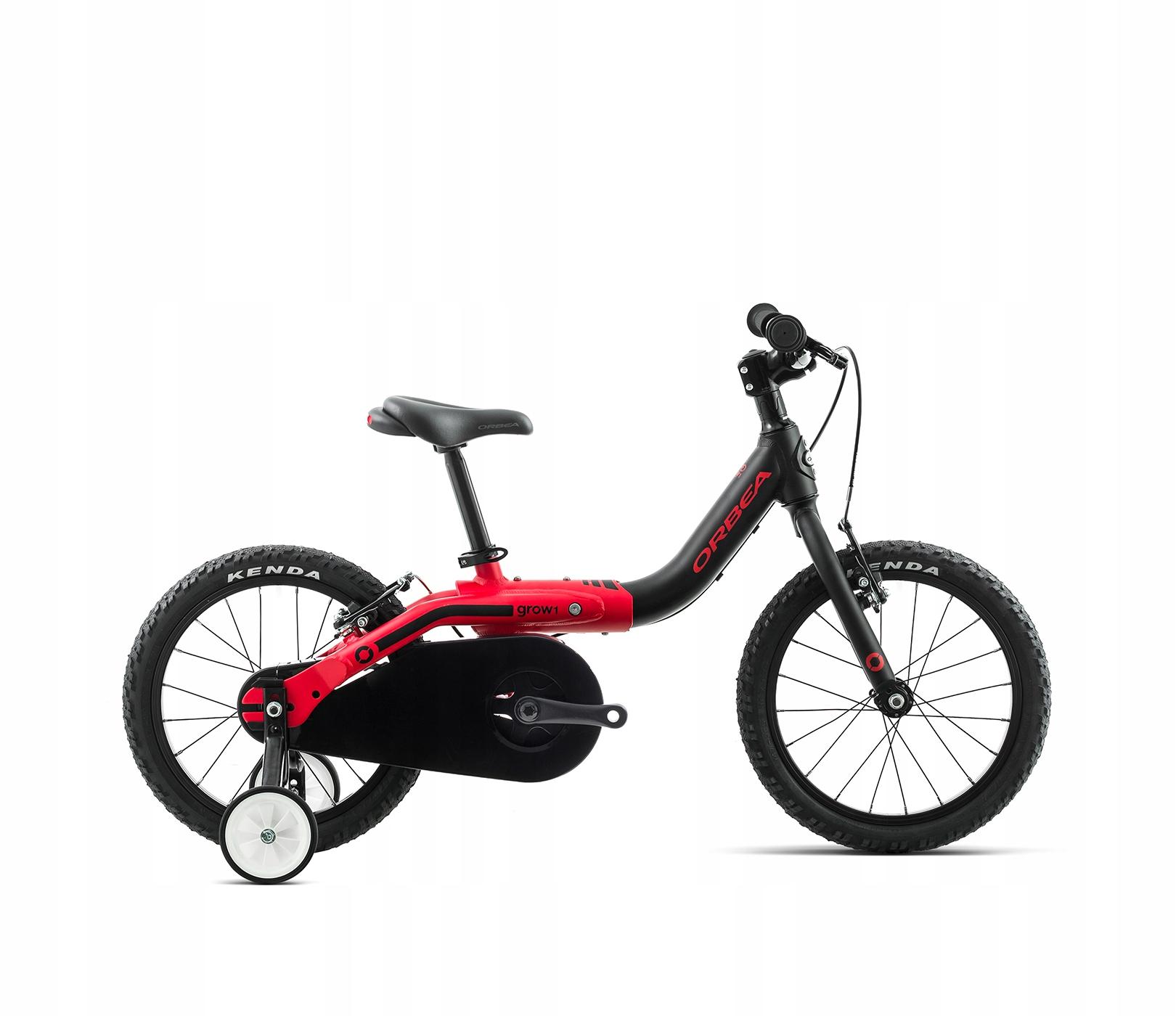 Orbea bicykli dieťa RÁSŤ 1 červená-čierna