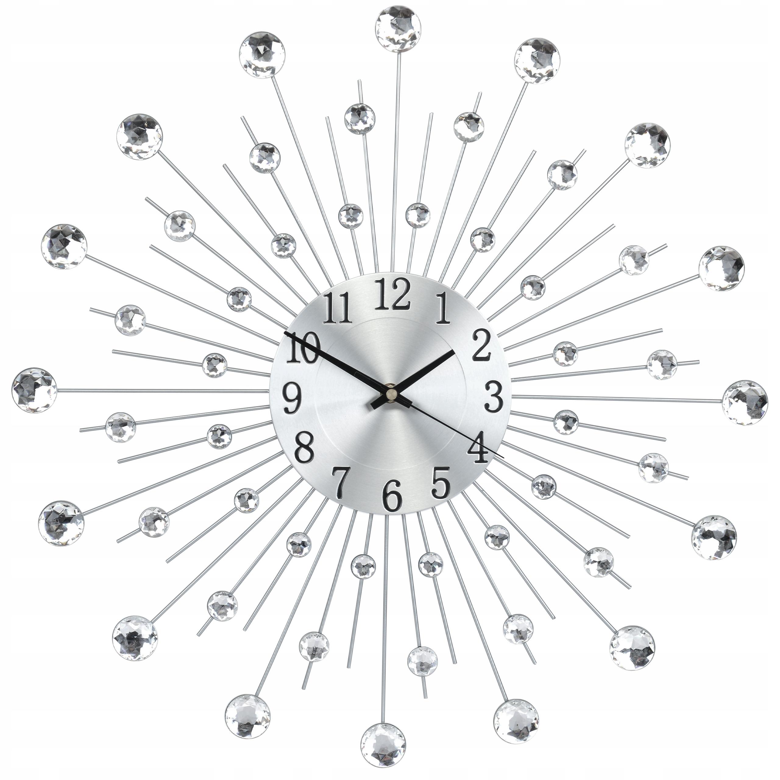часы настенный Стильный 50СМ CRISTAL Diamond