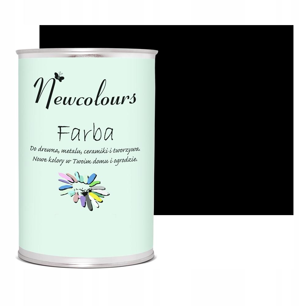 Akrylová farba Newcolours Suede Black 900ml