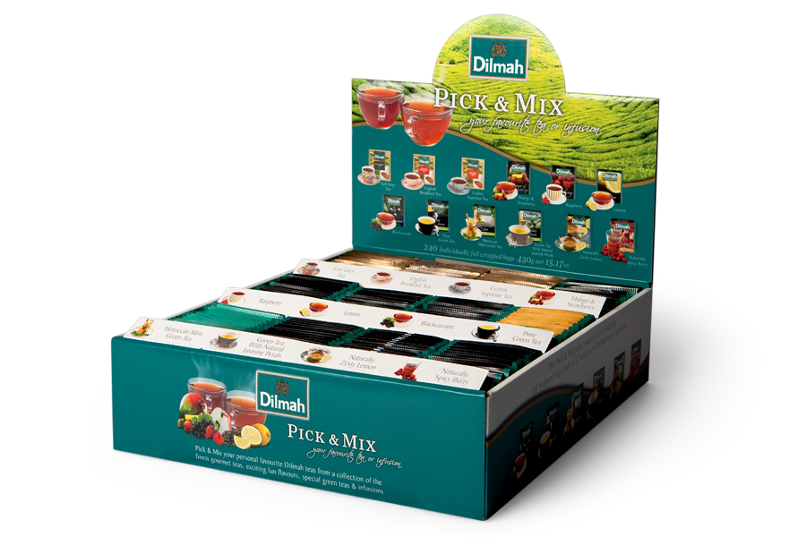 Item Dilmah Pick Mix set 240 12 tea flavors