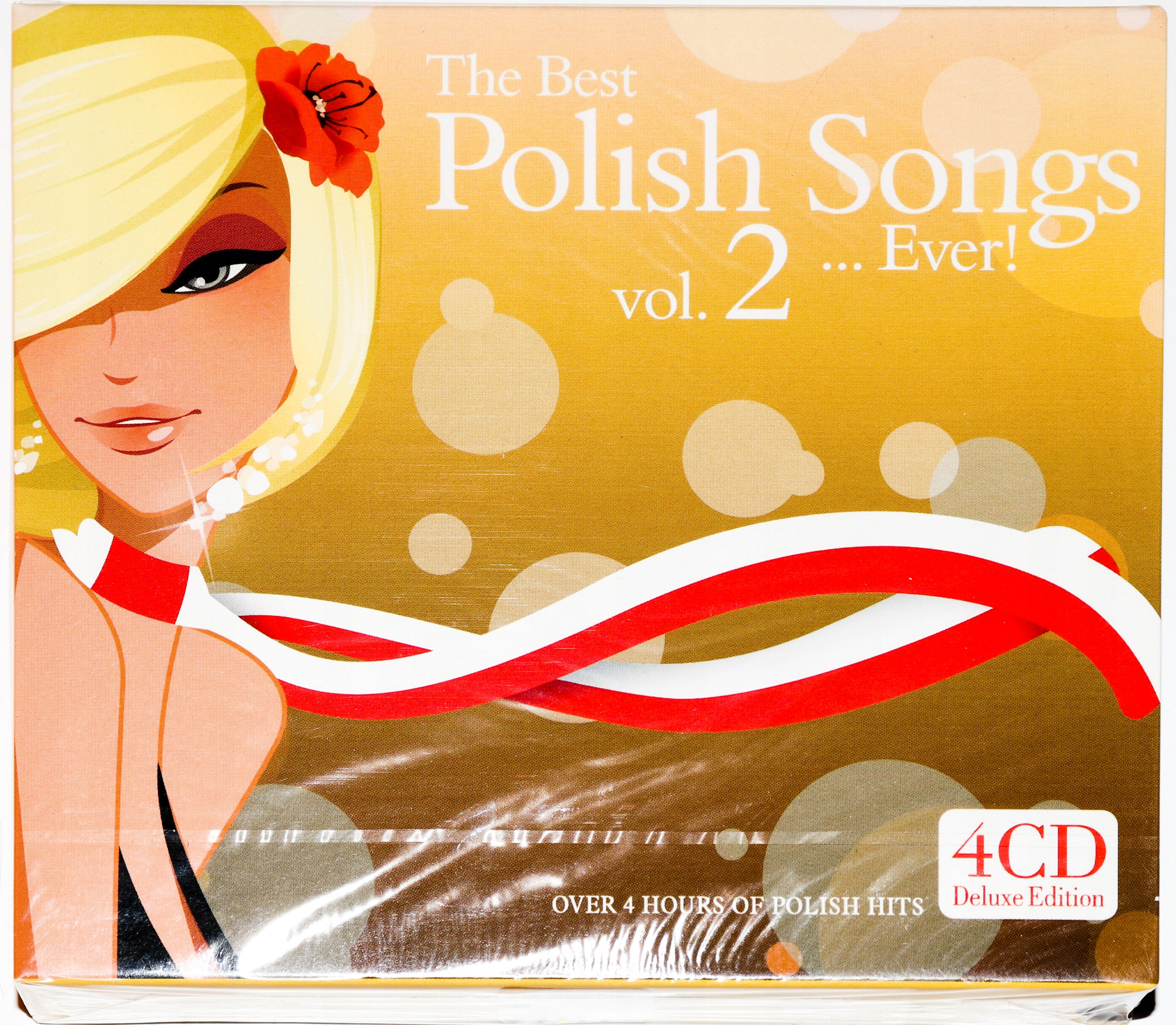Item THE BEST RUSSIAN SONGS EVER! VOL.2 = 4 CD = TAPE