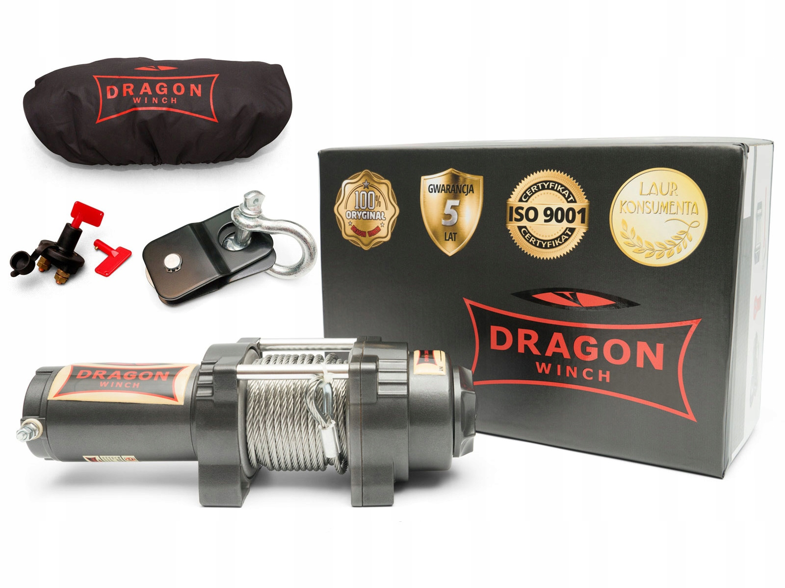 ЛЕБЕДКА DRAGON DWH3000HD QUAD WINCH