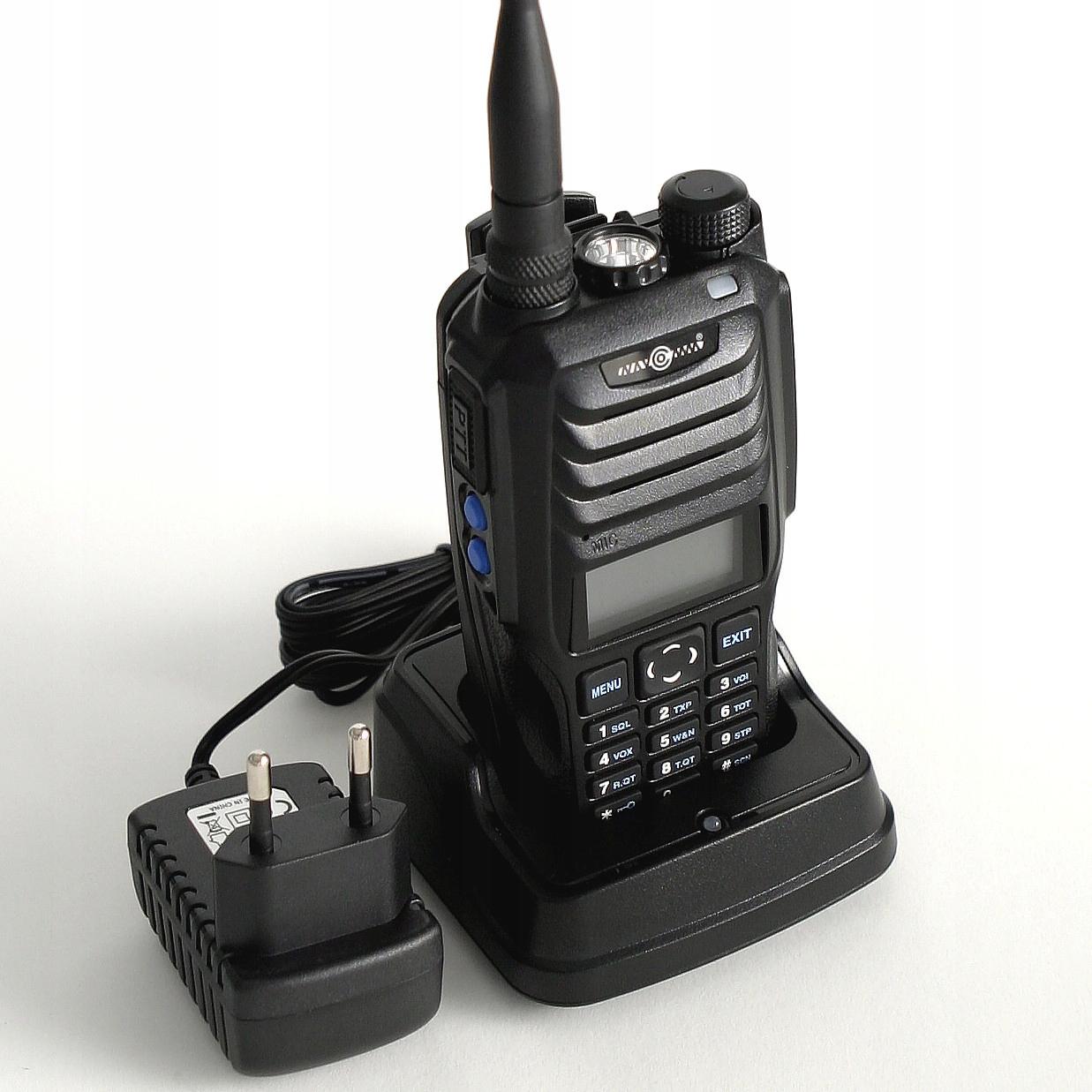 NC-900 Rádiová stanica Duobander Navcomm, 10W, 2600MAH