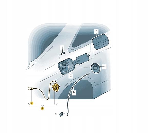 цилиндр босоножки настой топлива audi a4 q5 8k0862153j