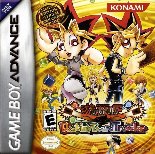 Hry Yu-Gi-Oh! Osud Rady Traveler GBA
