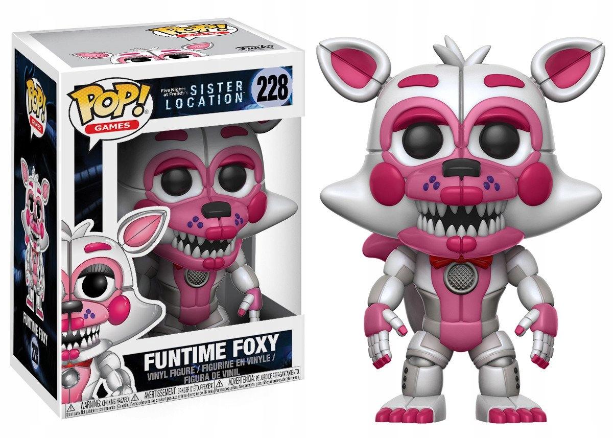 Päť nocí na Freddyho akčnej figúre FNAF Foxy Funtime