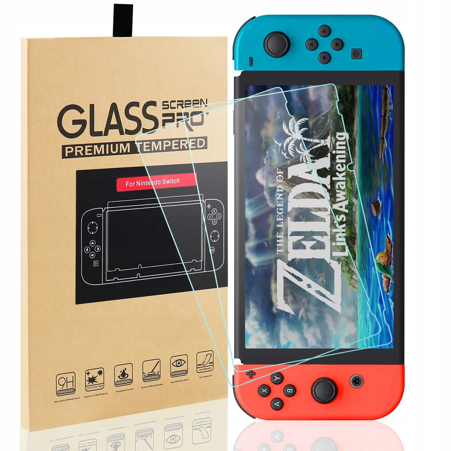 Item Tempered glass, tempered glass, Switch 2pcs.