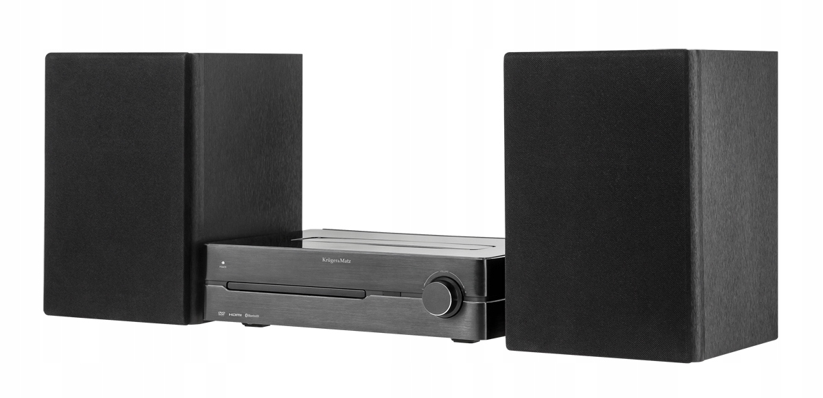 Kruger & Matz KM1808 NFC, BT, DAB +, FM DVD Tower