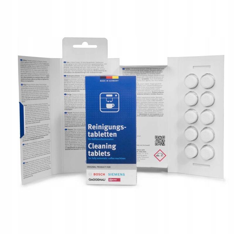 Bosch Tabletki Czyszczące 00311769 310575 TZ60001
