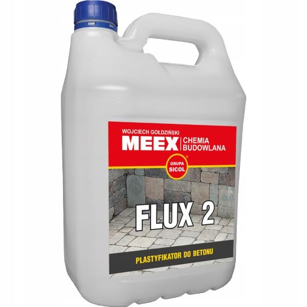 FLUX-2 Plastyfikator do betonu kostki brukowej 5L