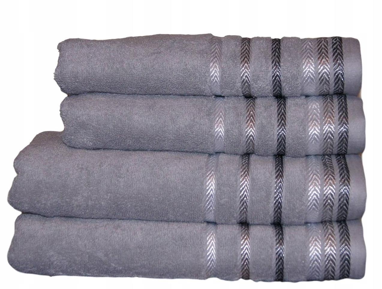ТОЛСТЫЕ Полотенца махровые набор из 4 cz 500g EUROFIRANY