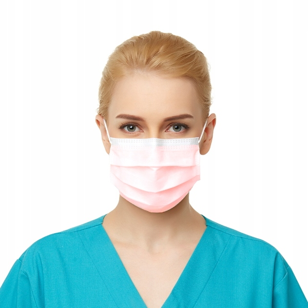 Poľská chirurgická maska - 20 kusov - hit