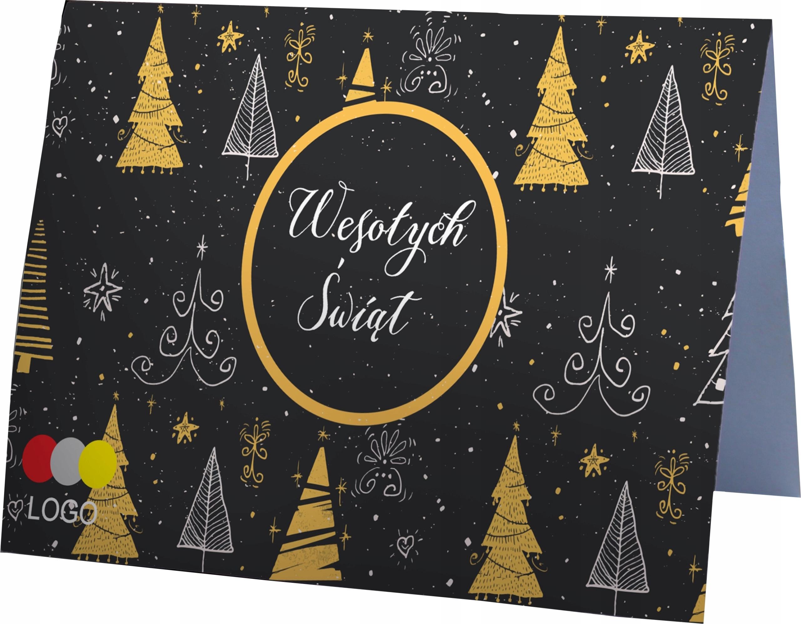 Firemné podnikanie Logo vianočných kariet + obálka