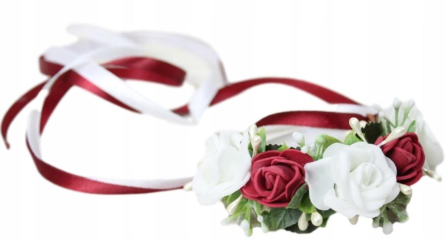 Купить Браслет котильон на руку, БОРДОВЫЙ краснухи свадьбу на Otpravka - цены и фото - доставка из Польши и стран Европы в Украину.