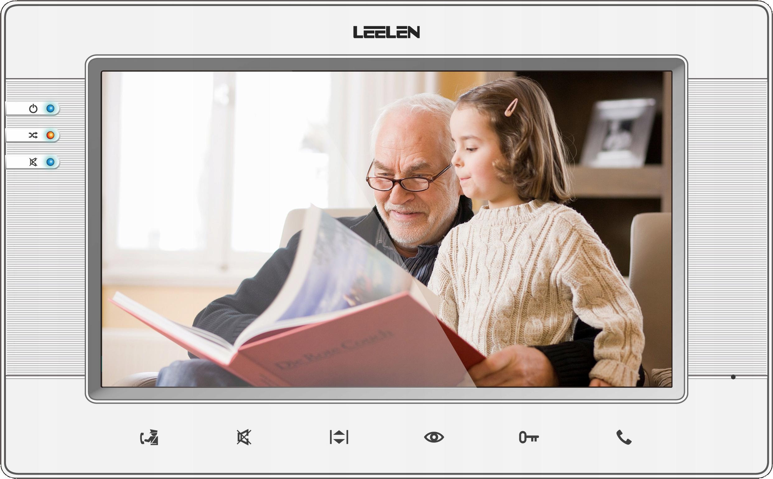 Wideodomofon LEELEN V34 JB305 7cali WYJĄTKOWY !!!