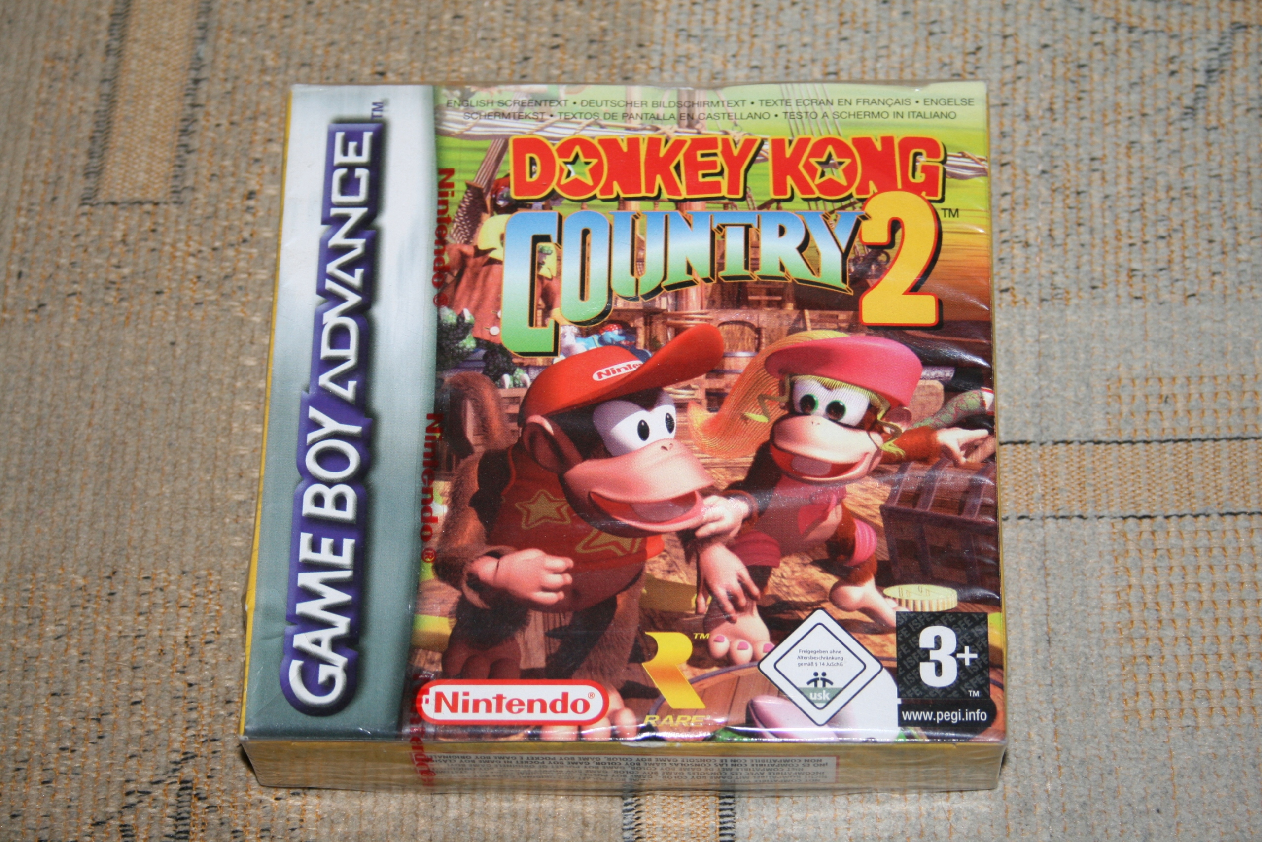 DONKEY KONG COUNTRY 2 / NINTENDO GAME BOY ADVANCE