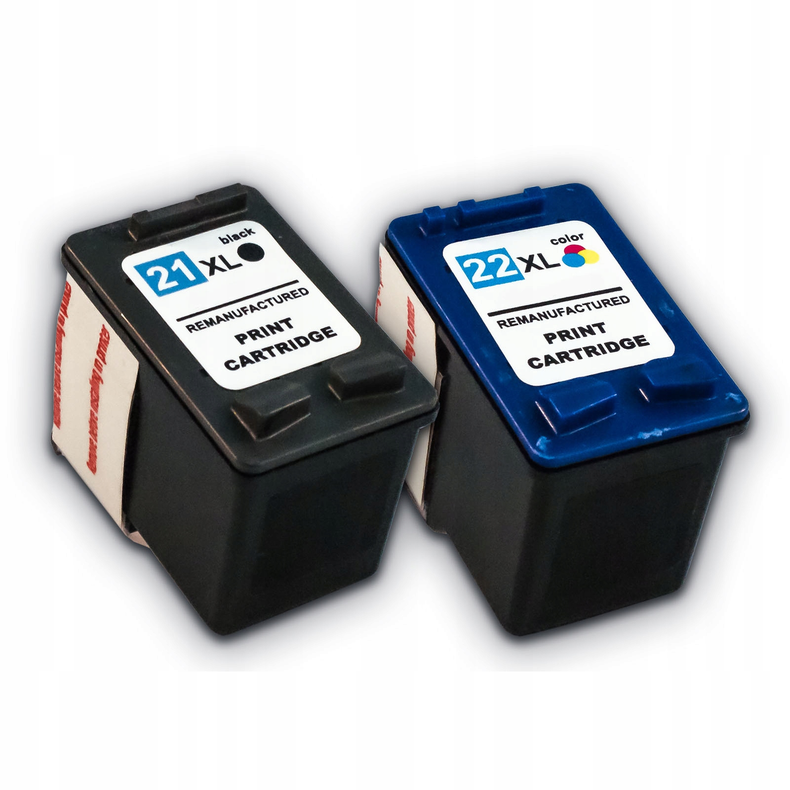 2x чернил для hp 21 xl + hp 22 xl F2180 F2280 F4180
