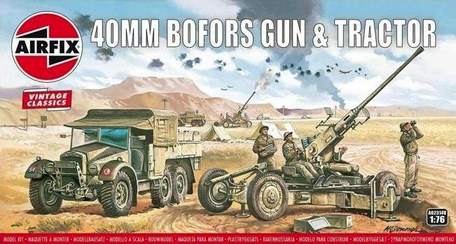 Zbrane bofors Zbraň&Traktor - Vintage Classic Vzduchu 02314v